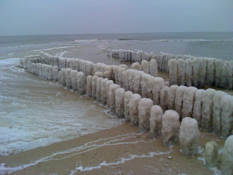 gefrorene Buhne