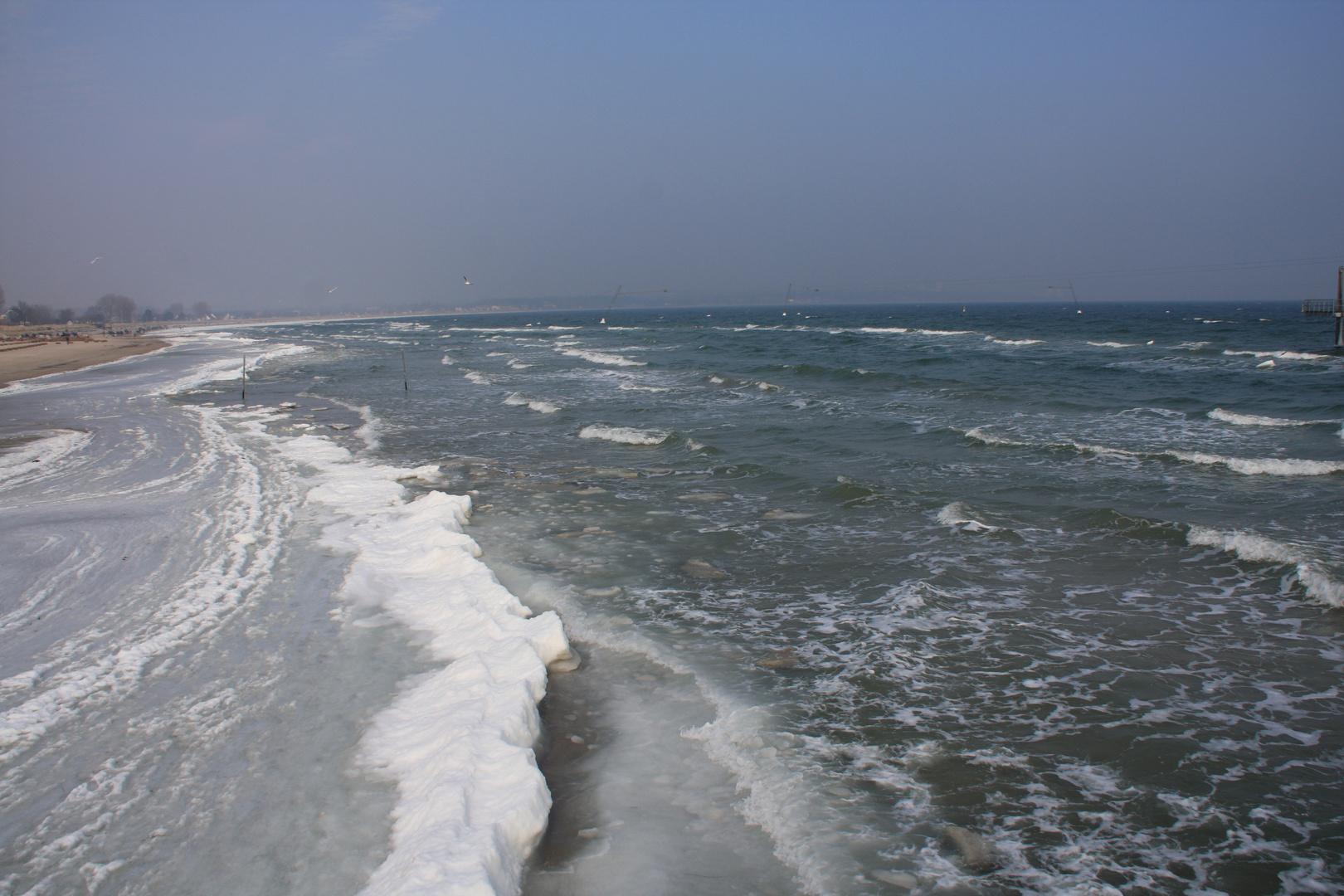 gefrorene wellen