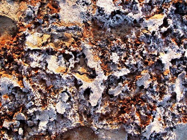 gefrorener sand