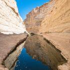 Gegensatz pur Wüste-Wasser