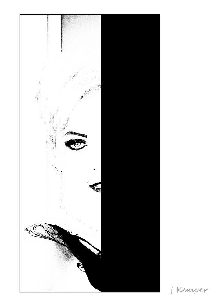 - geheimnisvolle Frau -