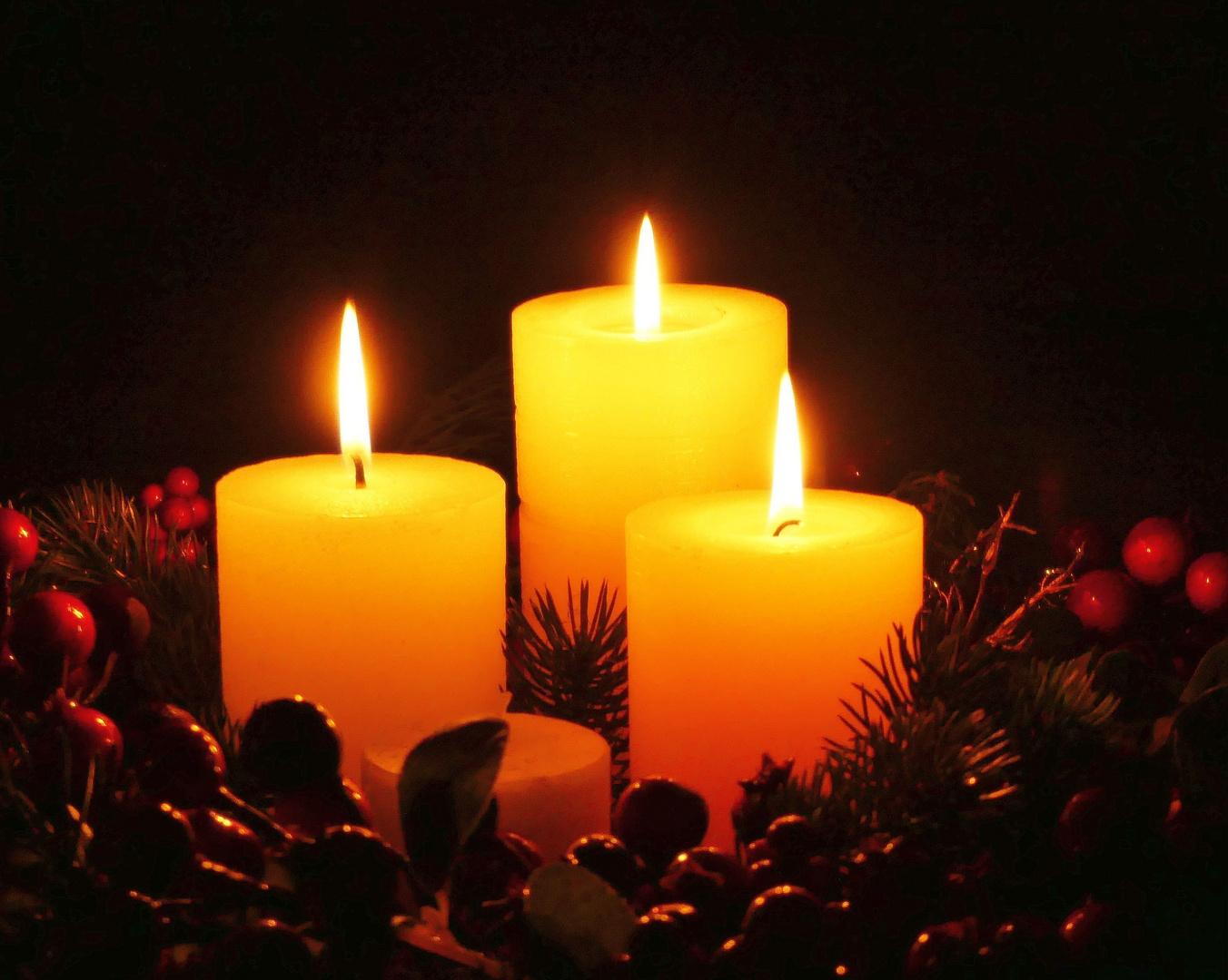 Geheimnisvolles Licht zum 3. Advent..
