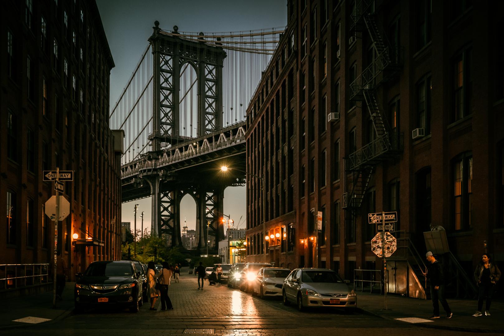 Gehört zu jedem New York Besuch: die Manhattan Bridge