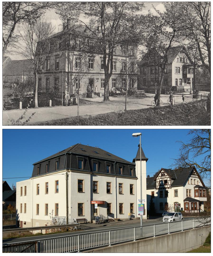 Gehringswalde bei Wolkenstein - Gestern und Heute