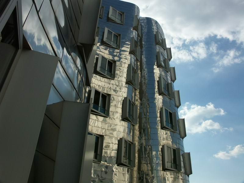 Gehrybauten in Düsseldorf