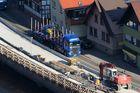 Gehwegsanierung an der B 462 in Weisenbach