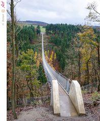 Geierlay Hängeseilbrücke bei Mörsdorf im Hunsrück