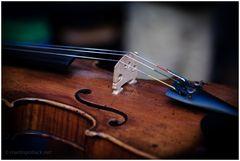 Geige: 2. Streich