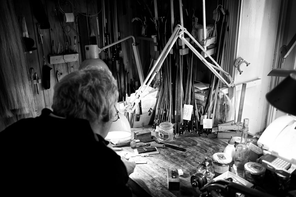 Geigenbaumeister - Der Blick über die Schulter