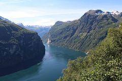 Geirangerfjord - Blick vom Aussichtspunkt...