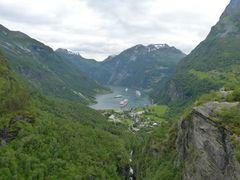 Geirangerfjord Hellesylt