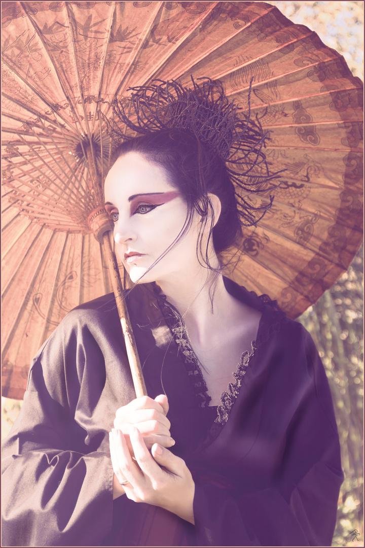 Geisha .. gothic style