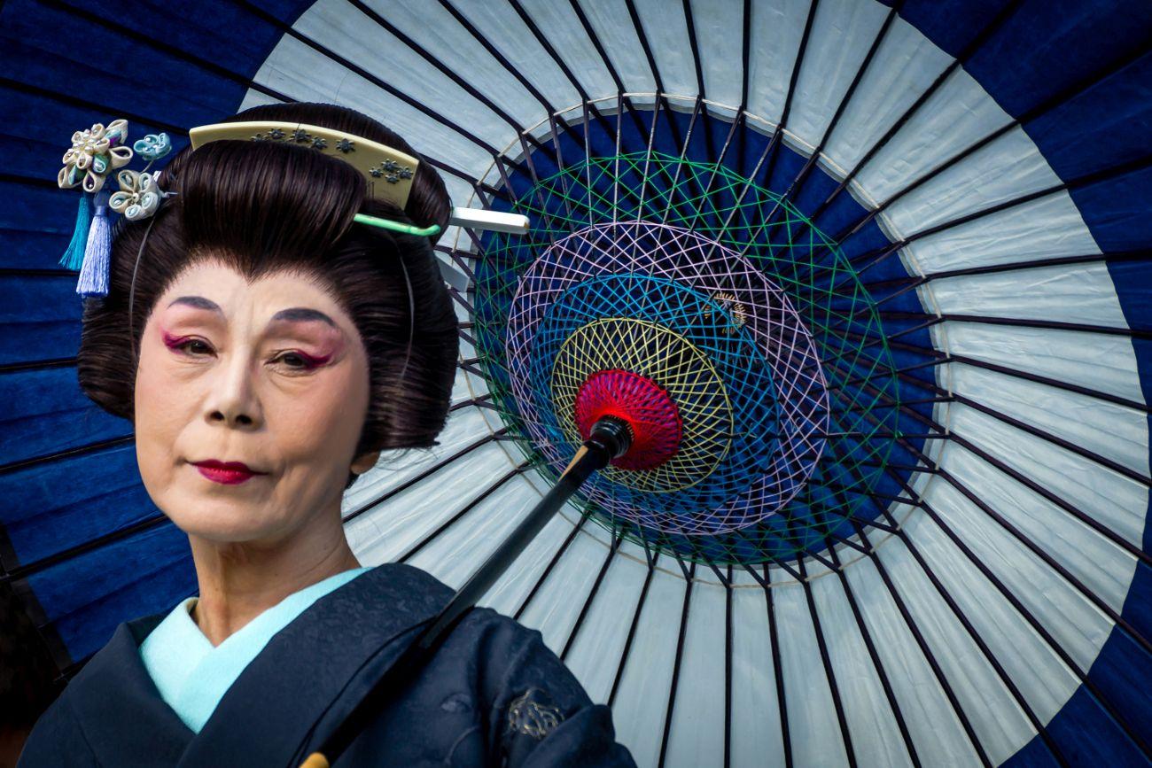 Geisha, Person of the Arts