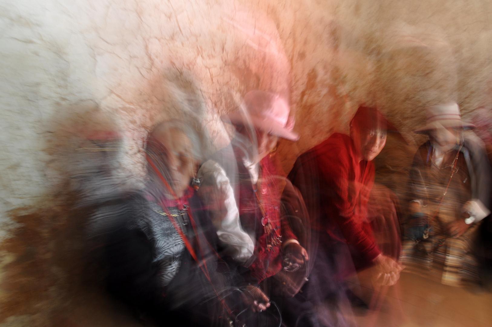 Geister im tibetischen Kloster