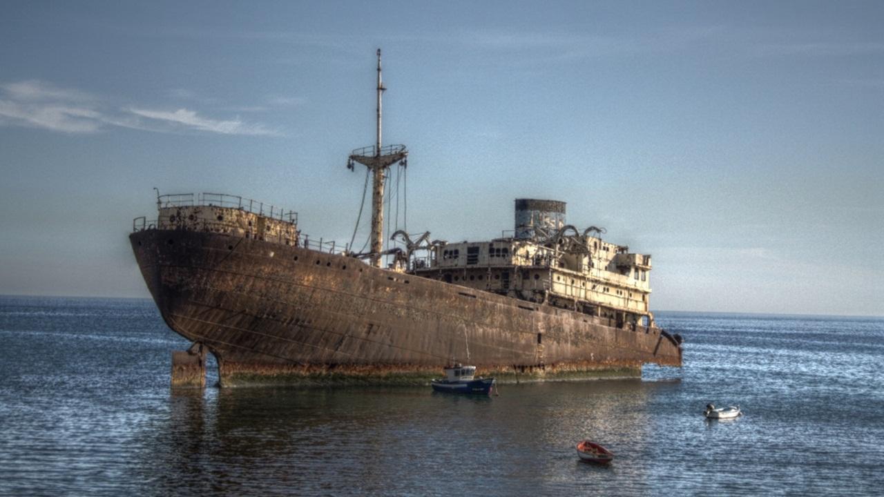 Geisterschiff auf Lanzarote