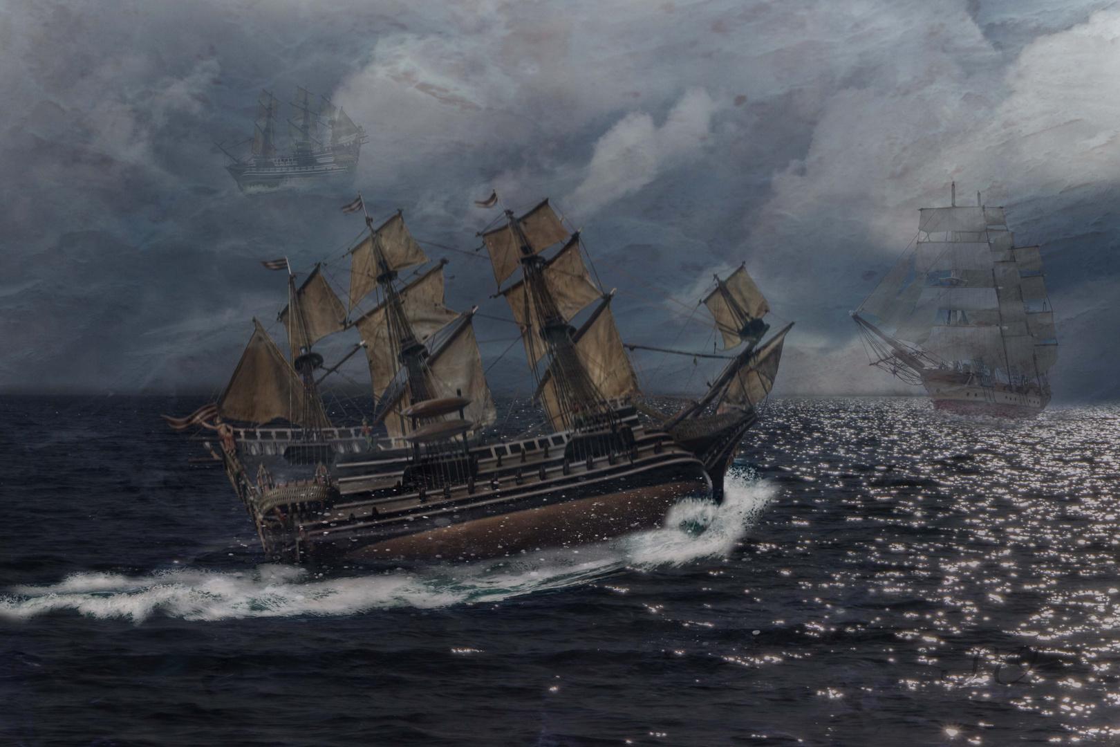 Geisterschiffe im Bermudadreieck