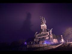 Geisterstunde am Niederwalddenkmal...