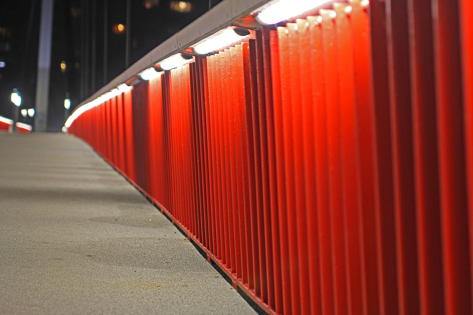 Geländer Rot