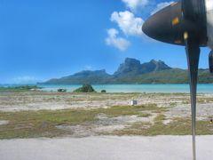 gelandet - auf Bora Bora