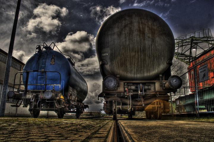 Gelangweilte Tankwagen........