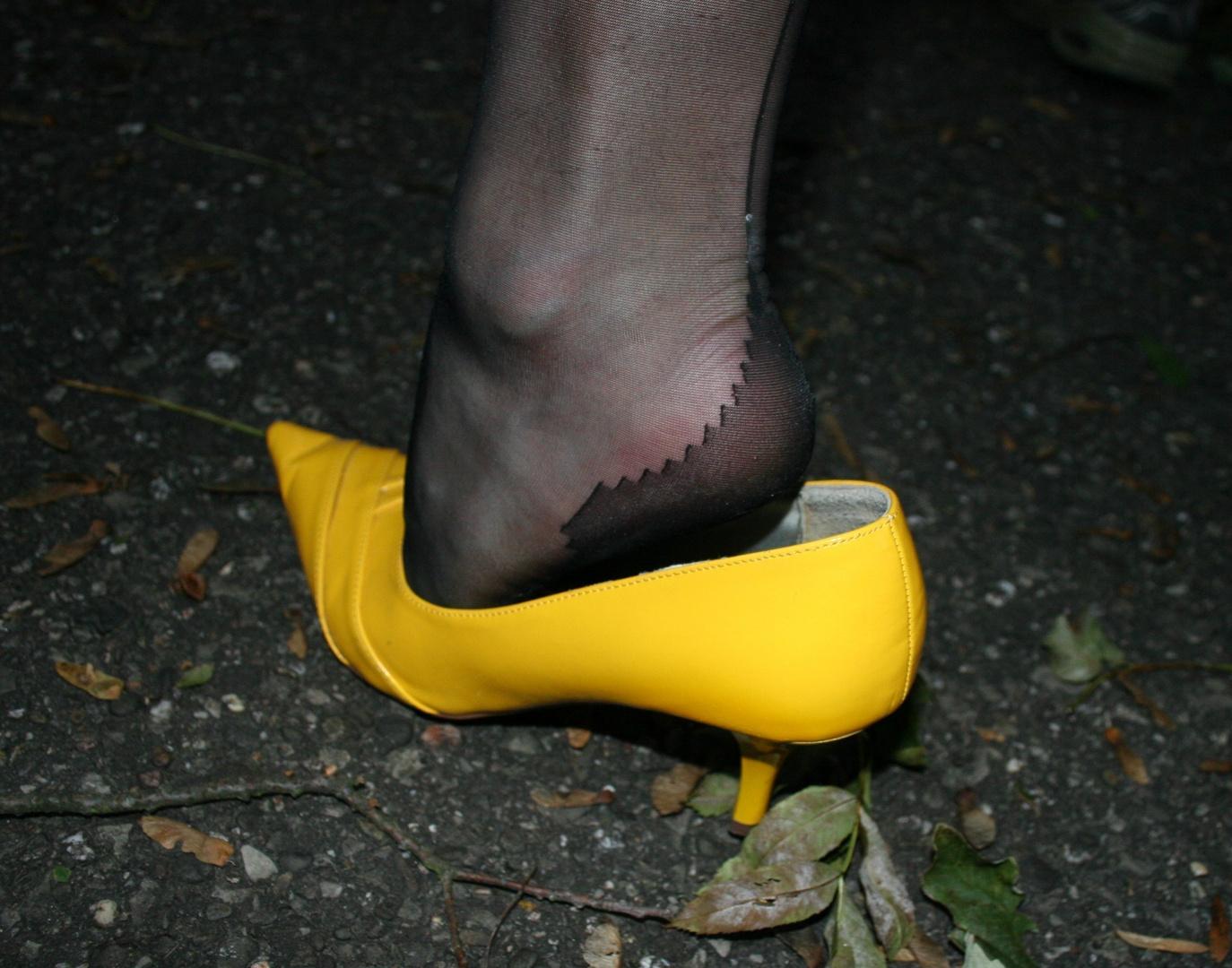 füße nylon