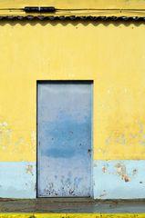 gelb blau gelb