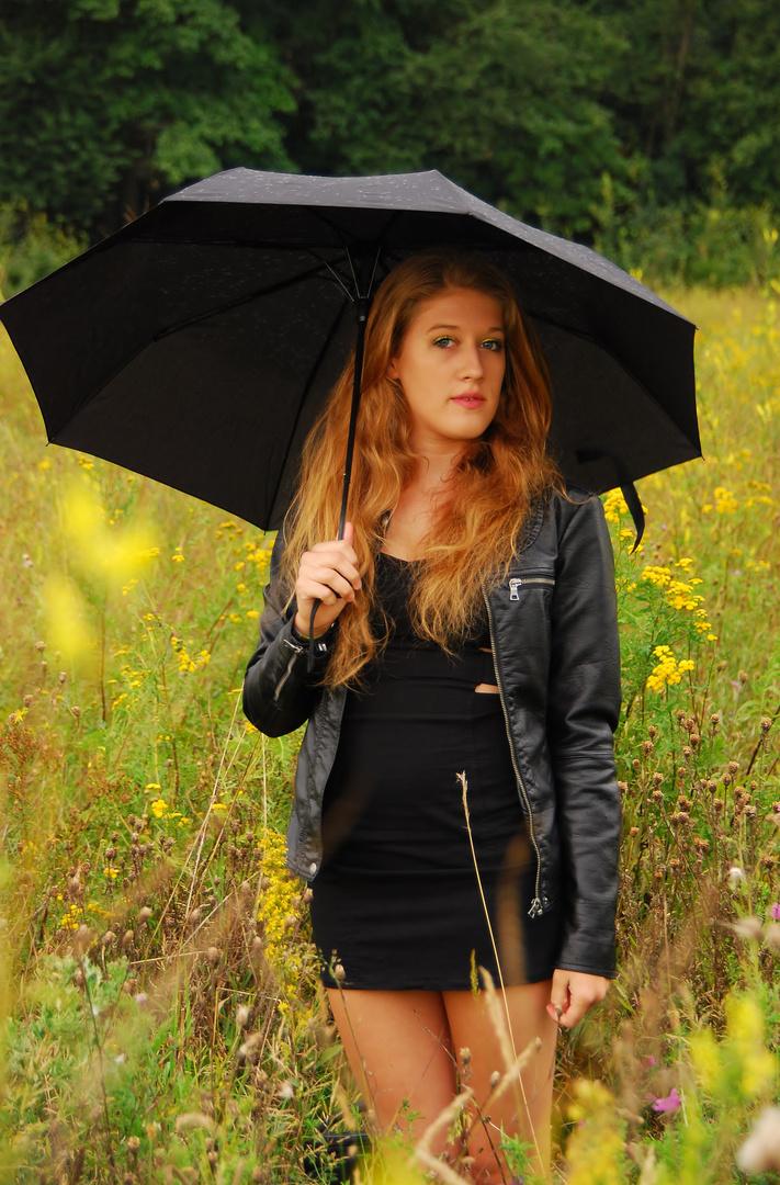 Gelb gegen den Regen III