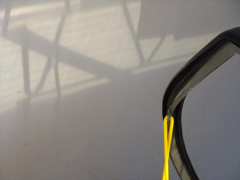 gelb nach abwärts