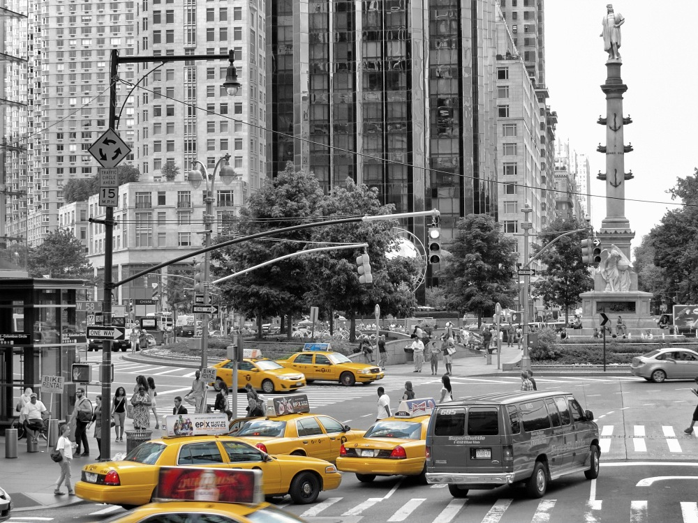 Gelbe Taxis New York 6