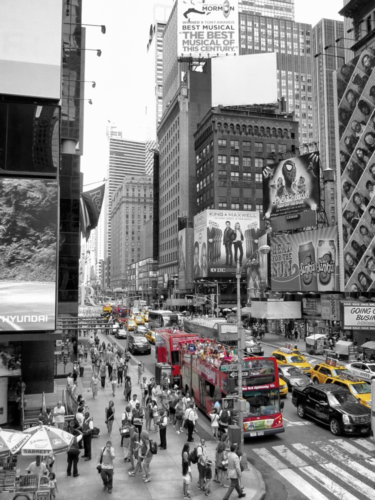 Gelbe Taxis New York 7 - Broadway