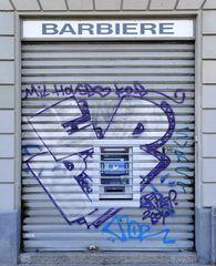 Geldautomat auf Italienisch