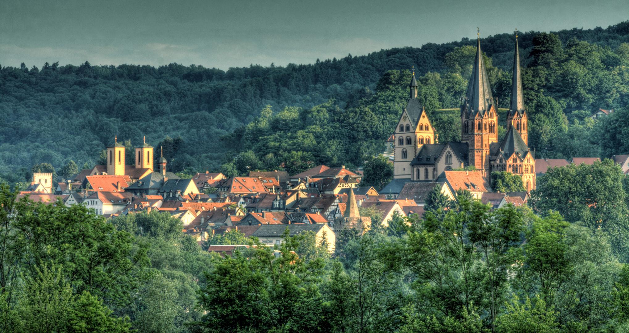 Gelnhausen in der Morgensonne