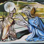 Gemalt nach einem Bild von Salvador Dali (uno de mis cuadros)