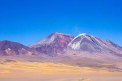Gemalte Berge