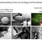 Gemeinschaftsausstellung - Galerie Alte Feuerwache Göttingen - Sa, den 04.10.2008