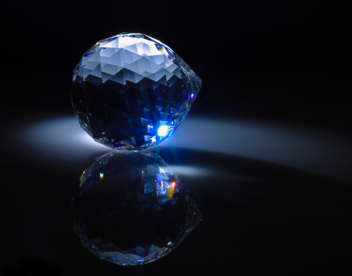 Gemischte Farben Hellblau Und Indigo Foto Bild Licht Und