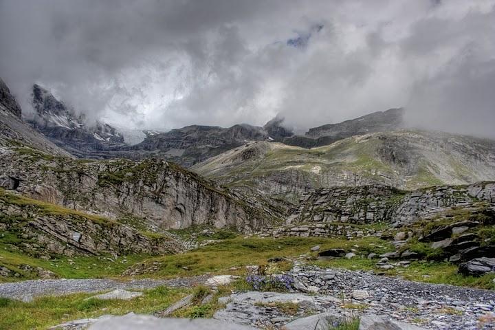 Gemmi pass, The Alpes