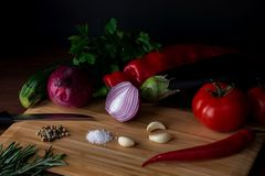 Gemüse...