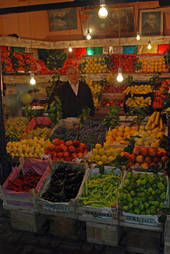 Gemüsehändler Istanbul