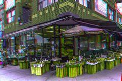 Gemüsehändler, Little Italy, Toronto 3-D