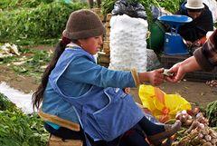 Gemüsemakt in Equador