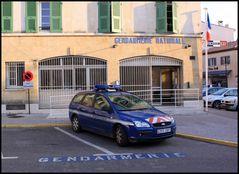 Gendarmerie in St. Tropez