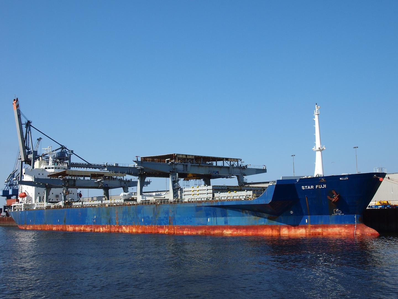 General Cargo Ship Star Fuji