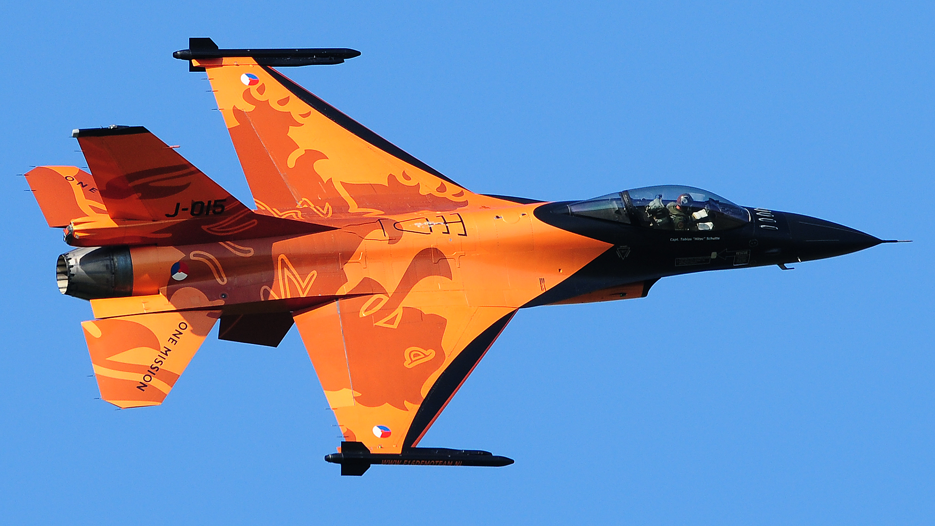 General Dynamics F-16AM Fighting Falcon Netherlands - Air Force