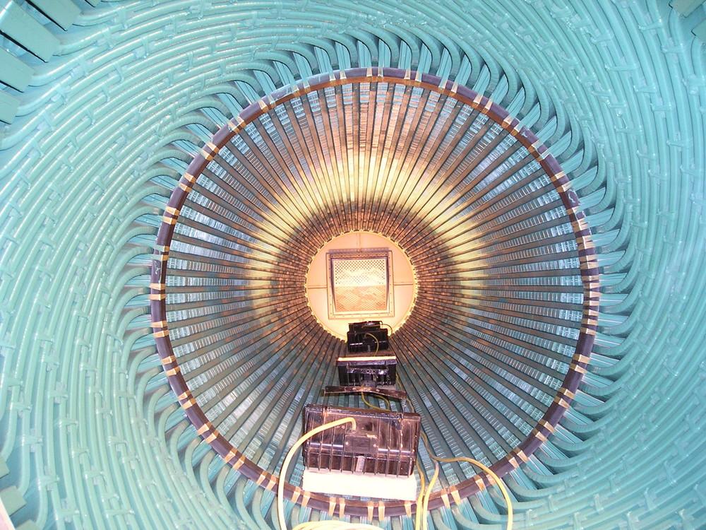Generator- Einblicke