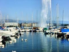 Genève au soleil