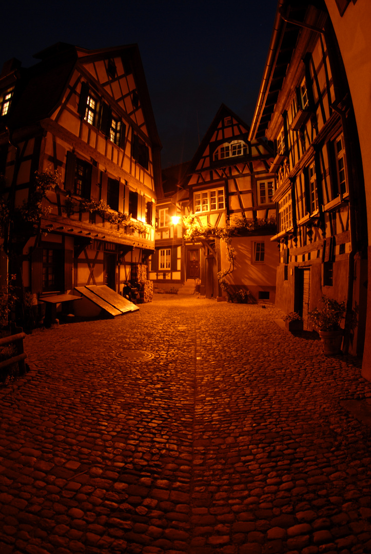 """Gengenbach im """"Nachtlicht"""""""