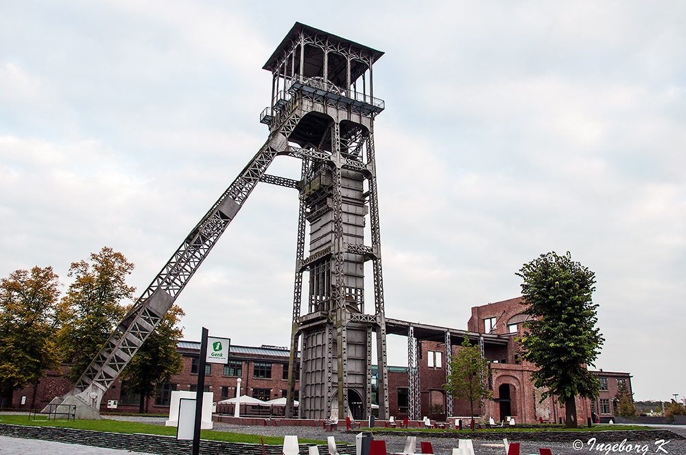Genk - C-mine Winterslag - Bergwerksvergangenheit