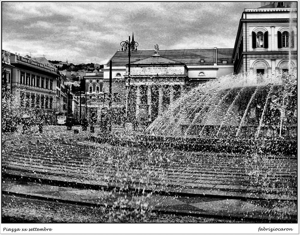 Genova Piazza xx settembre