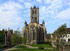 Gent - Kirche St.Niklas / St. Nikolaus